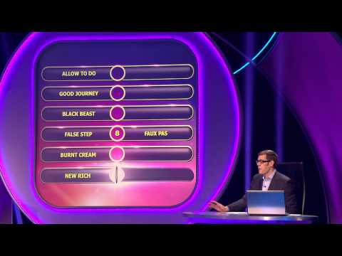 Dan and Toby Wilson in 'Pointless' 2 December 2012 (2 of 3)
