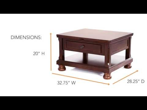 Porter T697-0 Lift Top Coffee Table