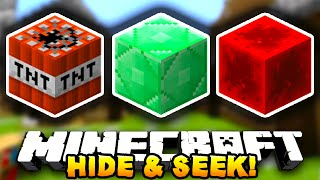 Minecraft HIDE&SEEK #3 (Funny Minigame) - w/ Preston&Lachlan