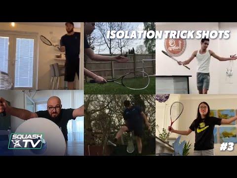 Squash Got Skills - Isolation Trick Shot Compilation 3 #SquashedInside
