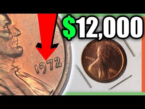 1972 PENNY WORTH MONEY - RARE PENNIES TO LOOK FOR!!