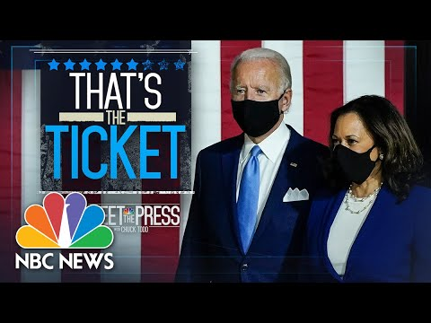 Meet The Press Broadcast (Full) - August 16th, 2020 | Meet The Press | NBC News