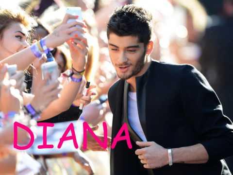 One Direction – Diana (pictures + lyrics)
