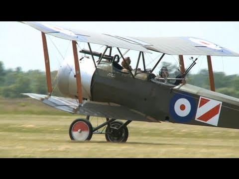 Aviones de la Primera Guerra Mundial: en vuelo