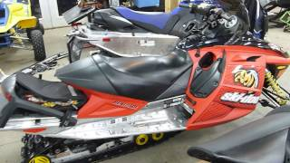4. 2005 Skidoo MXZ600 SDI Renegade Walk Around, For Sale, Parting out only!