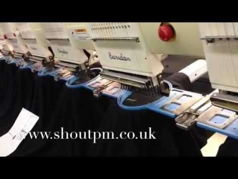 How embroidery works - by Shout Promotional Merchandise Ltd
