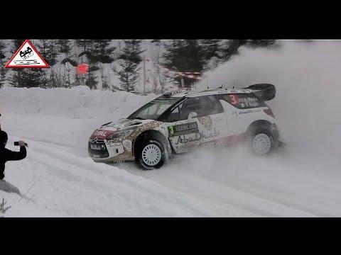 Crash Meeke Power Stage Rally Sweden 2015 [Passats de canto]