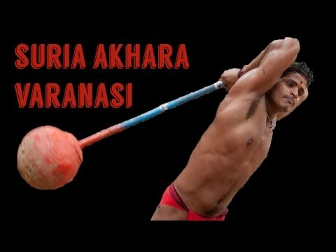Indian Clubs - Visit to Suria Akhara, Varanasi