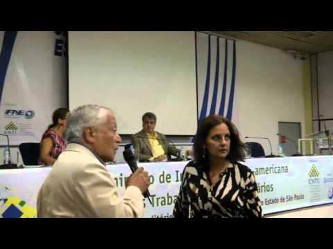 Palestra de Felix Rígoli Seminário de Integração Latino-americana dos Trabalhadores Universitários