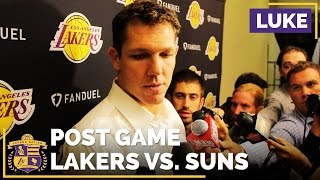 Luke Walton On Finalizing Roster, How He Plans To Evaluate Success This Season by Lakers Nation