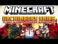 Minecraft 1.8 Mody - Archimedes Ships Mod - Pływaj Własnym Statkiem w Minecraft!