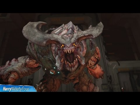 DOOM (2016) - Cyberdemon Boss Fight Walkthrough