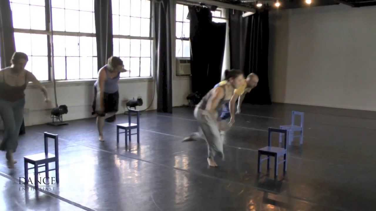 A Dance Enthusiast Minute- A Minute on Little Chairs- with Becky Radway Dance Projects