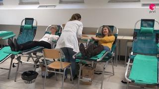 Studenti dobrovoljno darovali krv, manjak zaliha u SKB Mostar