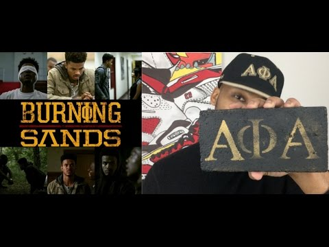 NETFLIX BURNING SANDS | MOVIE REVIEW BY AN ALPHA!!! | (SPOILER)