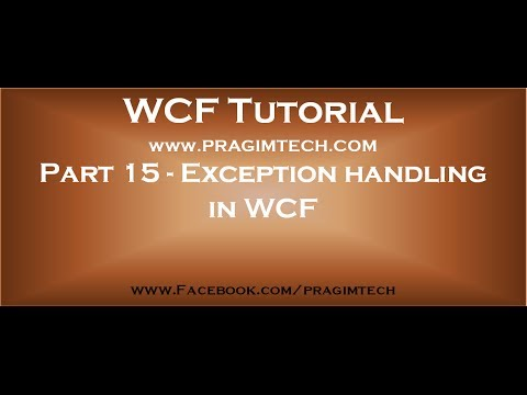 how to provide security in wcf service