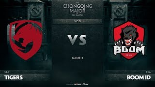 Tigers vs Boom ID, Game 2, SEA Qualifiers The Chongqing Major