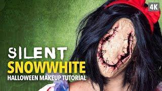 Silent Snow White Halloween Makeup Tutorial