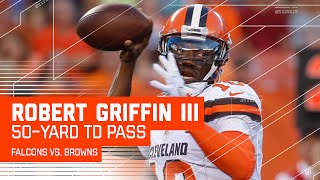 RGIII's 50-Yard TD Bomb to Terrelle Pryor! | Falcons vs. Browns | NFL by NFL