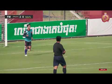 Phnom Penh Crown FC vs Soltilo Angkor FC 2-0 - All Goals & HIGHLIGHTS -FC- 21/01/2018