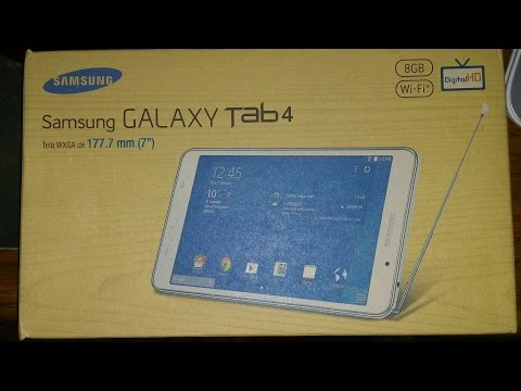 REVIEW  - TABLET - SAMSUNG GALAXY TAB 4 SM-T230NT