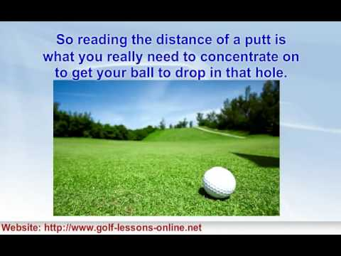 A Few Golf Putting Tips