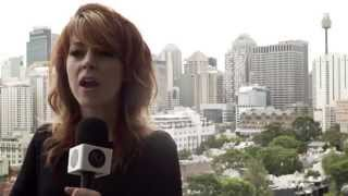 Stirling Australia  City new picture : Lindsey Stirling Interview in Sydney, Australia