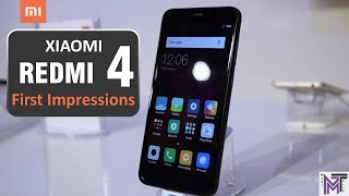 Xiaomi Redmi 4 New Budget Smartphone First Look And Details,Review,Specifications And Price In Hindi.Xiaomi Redmi 4 New Budget Smartphone With Comes 1.4 Ghz Octa Core Processor ,Snapdragon 435 Chipset And Adreno 505 GPU.😃Available In Three Variant1) 2 GB RAM + 16 GB Internal Storage = Rs.6999 2) 3 GB RAM + 32 GB Internal Storage = Rs.89993) 4 GB RAM + 64 GB Internal Storage = Rs.10999😍Mobile Features                 Comes with 13MP / 5MP Camera,Hybrid Sim Slot (VOLTE Supported),Fingerprint Scanner, Compass, Gyroscope,MicroSD card support and large 4100 mAh battery.1) Moto G5 Plus Vs Lenovo P2 SpeedTest And Full Comparison Of Display, Camera, Battery, Design In Hindihttps://www.youtube.com/watch?v=s2Mi606B-8o2) Moto G5 Plus Vs Xiaomi Redmi Note 4 SpeedTest And Full Comparison Of Display,Camera,Battery In Hindihttps://www.youtube.com/watch?v=D4swuAg-8Js
