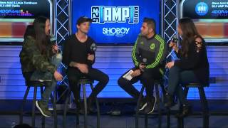 Louis Tomlinson and Steve Aoki interview for 92.3AMP Video