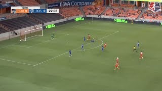 Nichelle Prince provided the game-winner for the Houston Dash in the 23rd minute, as the Houston Dash defeated the Boston ...