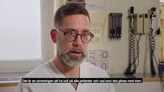 Många fördelar med mobila journaler. Västmanlands sjukhus Sala arbetar med COSMIC Nova från Cambio.