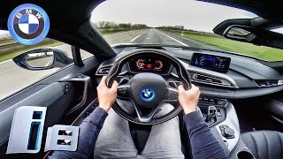 BMW I8 Accelaration On Autobahn