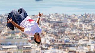 Dimitris Kyrsanidis Freerunning in Athens | 360° video by Red Bull