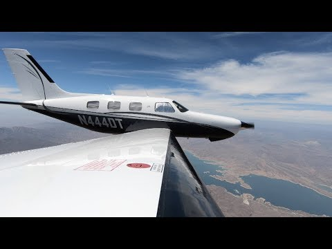 PA46 Piper Malibu - IFR Flight To Oklahoma W/G500 TXi
