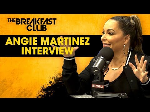 "Angie Martinez Brings ""Untold Stories of Hip-Hop"" To The Breakfast Club"