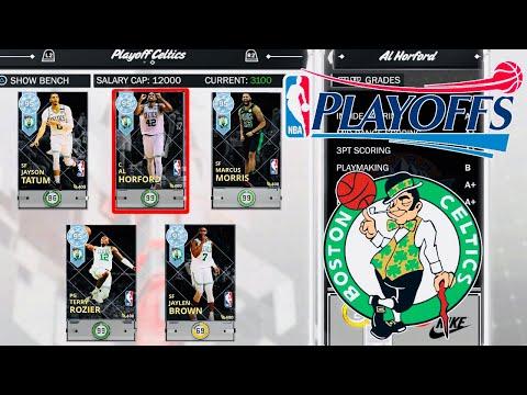 ALL 6 NEW DIAMONDS PLAYOFF CELTICS GAMEPLAY!!! ARE THEY WORTH IT? (NBA2K18)