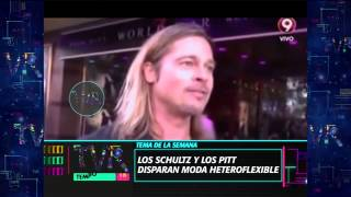 Download Lagu Tema de la Semana: Los Schultz y los Pitt disparan moda heteroflexible - 30-05-15 Mp3