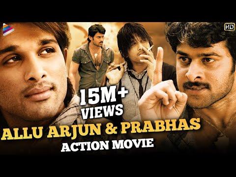 Allu Arjun & Prabhas Action Movie HD   South Indian Hindi Dubbed Action Movies   Telugu Filmnagar