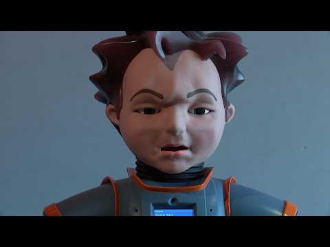 zeno, robot, autistic children, communicate