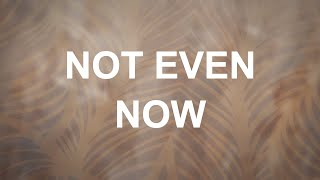 Alisa Turner - Not Even Now (Official Lyric Video)