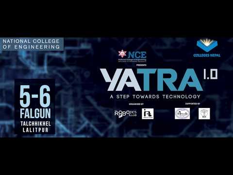 (YATRA 1.O | NATIONAL COLLEGE of ENGINEERING ..: 39 sec..)