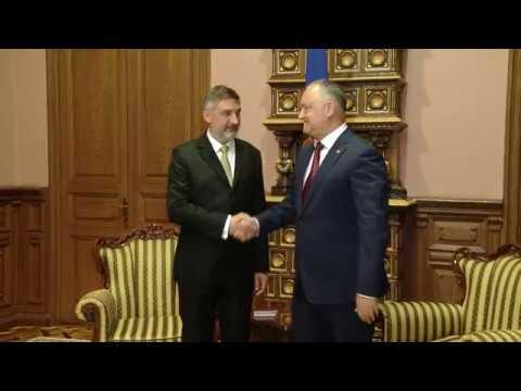Președintele Republicii Moldova a avut o întrevedere cu ambasadorul Republicii Polone