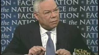 Colin Powell On Face The Nation Part 1 Of 2 May.24, 2009