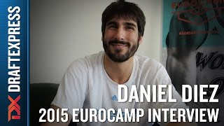 Daniel Diez Interview at the 2015 adidas EuroCamp