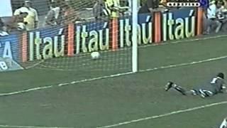 Brasileirão 2004 - Estádio: Serra Dourada - Goiás 2 x 2 Cruzeiro - Gols do Verdão: Rodrigo Tabata e Paulo Baier - Público: 15.408 - Imagens: PFC ...