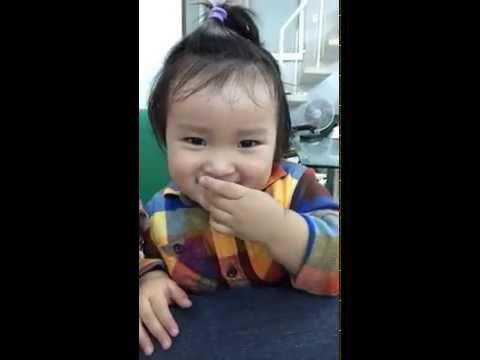 Funny baby dancing video