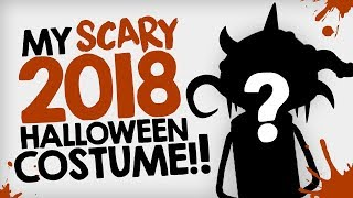 My SCARY 2018 Halloween Costume!! :D - THEMEATLY