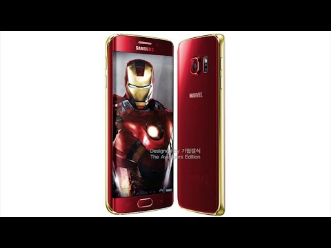 Iron Man gets a Galaxy S6 of his own