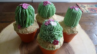 Cactus Cupcakes......how to make.