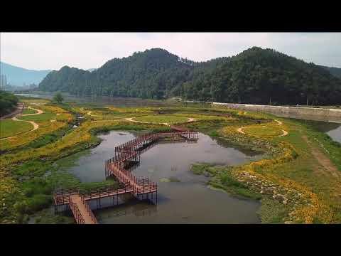 장흥 탐진강변 수변공원